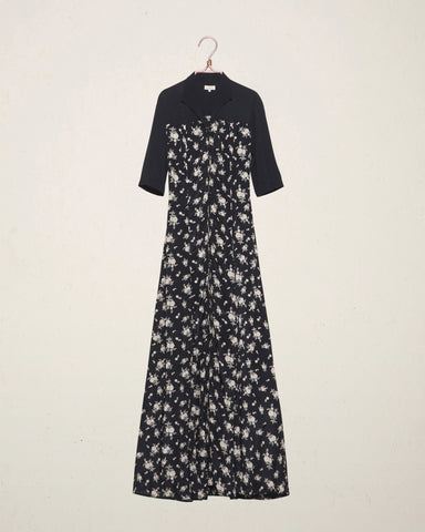 Japanese Bloom Maxi Dress