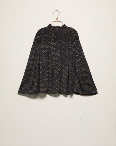 Black Starlets Blouse