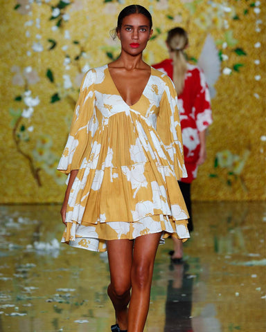 PRE-ORDER Yellow Bloom Dress