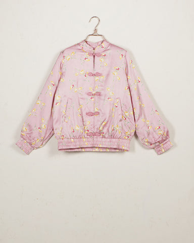 Summer Flowers Bomber Jacket