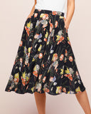 Circle Skirt Trailing Flowers