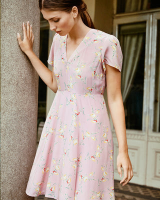 50's Dress Summer Flowers