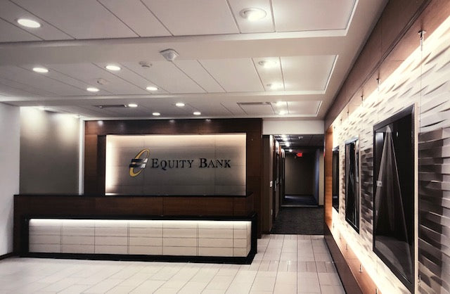 Equity Bank Entry Way