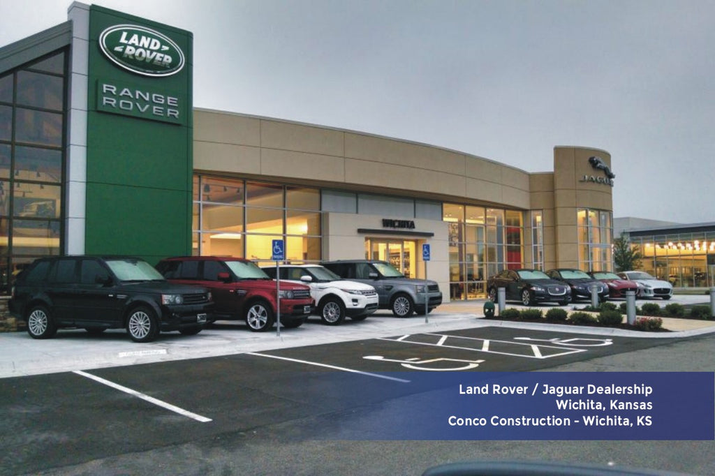 Land Rover Dealership Conco Constsruction