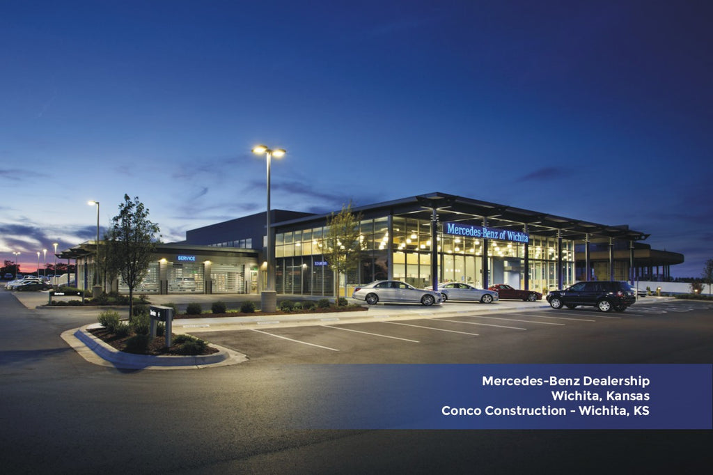 Mercedes-Benz Dealership Conco Construction