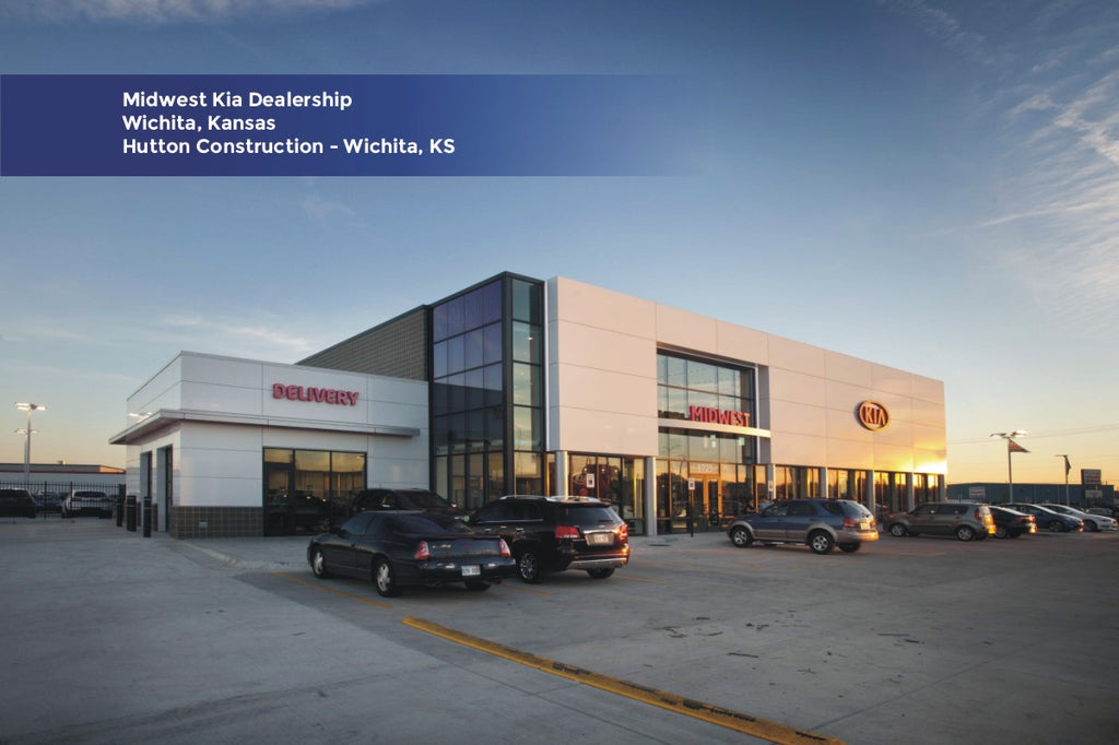 Midwest Kia Dealership Hutton Construction