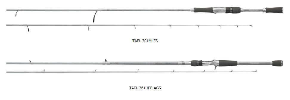 Daiwa Tatula Elite Signature Series Bass Spinning Rods