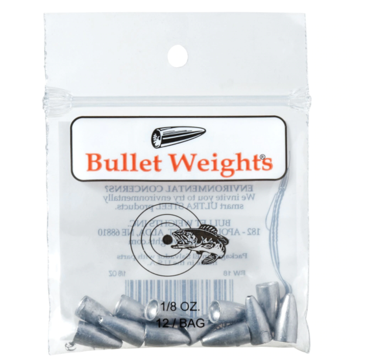 Bullet Weight Slip Sinker