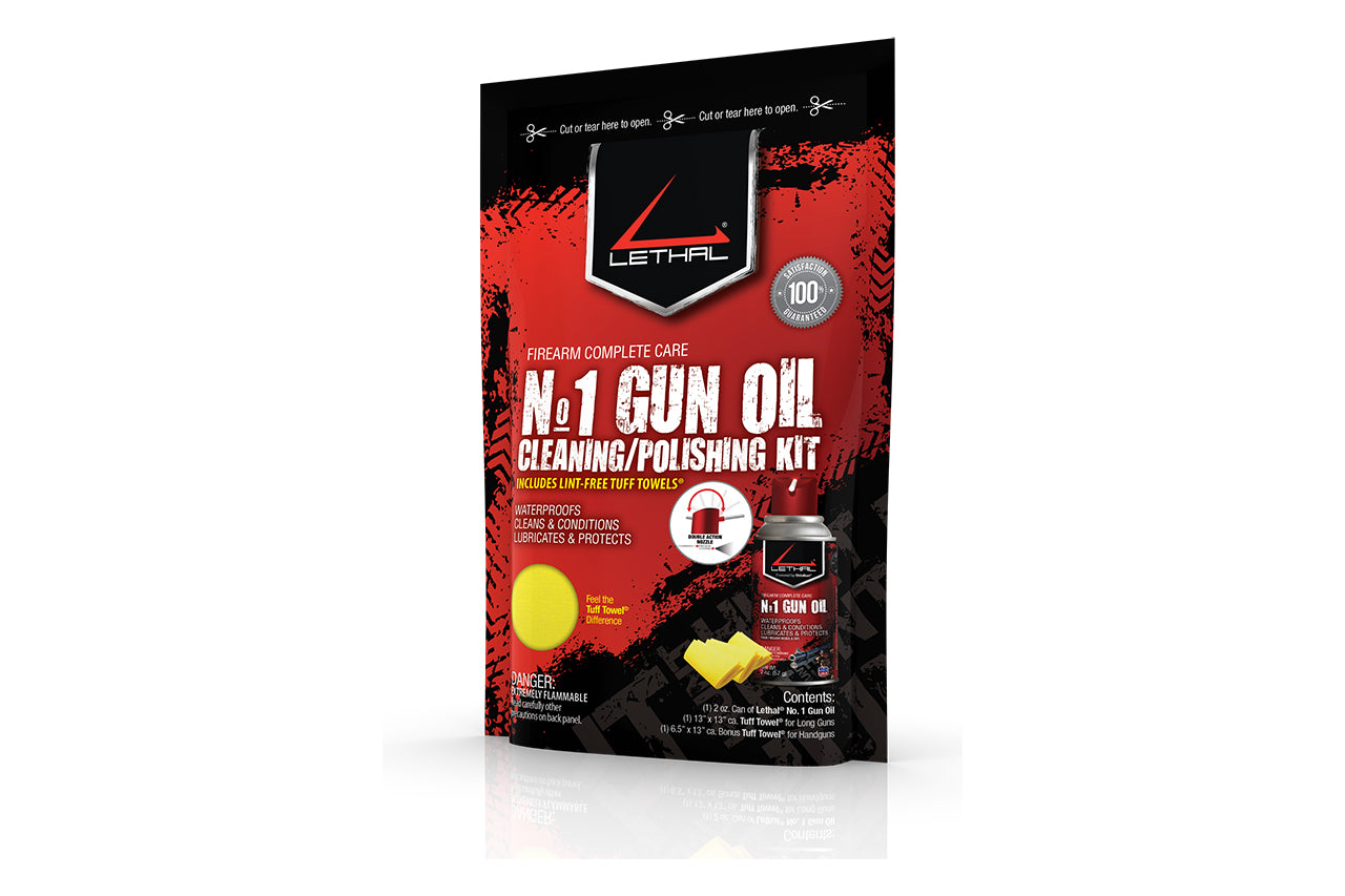 Lethal #1 Gun Cleaning Kit 2oz