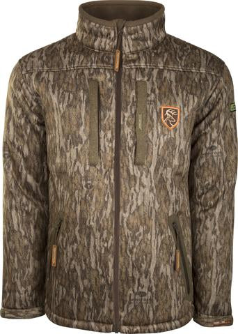 Silencer Full Zip Jacket Full Camo with Agion Active XL™ (Bottomland)