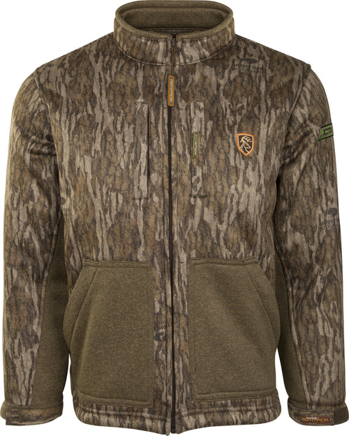 Youth Silencer Full Zip Jacket with Agion Active XL® (Bottomland)
