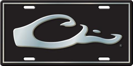 Drake™ HEAD LICENSE PLATE (Green)
