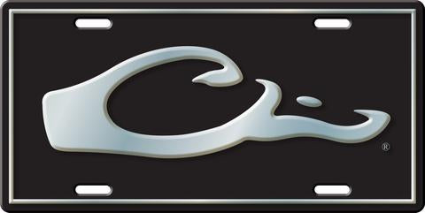 Drake™ HEAD LICENSE PLATE (Black)
