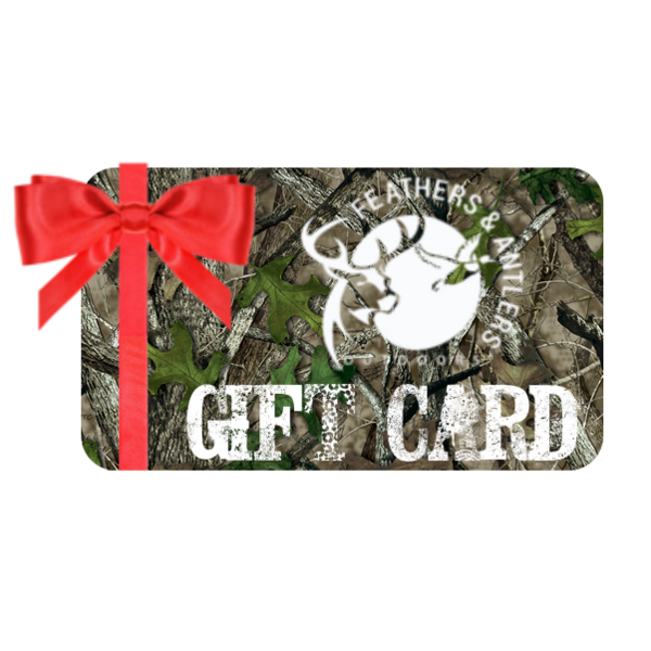 Feathers & Antlers Outdoors Digital Gift Card