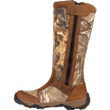 ROCKY RETRACTION WATERPROOF SIDE-ZIP SNAKE BOOT (Xtra)
