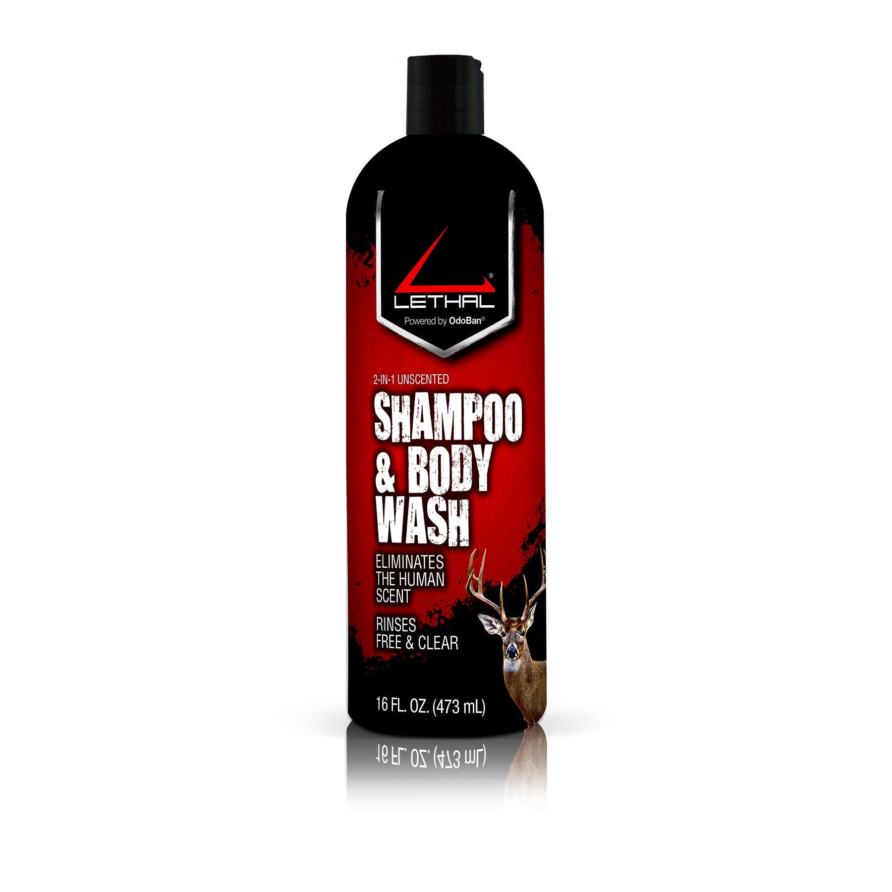 Lethal Shampoo & Body Wash 16 fl. oz. Bottle