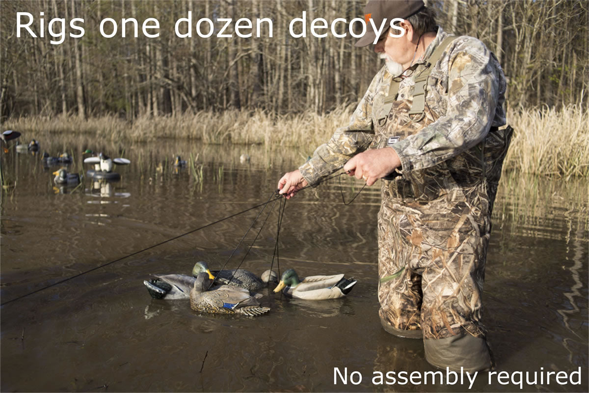 MOJO® Jerk-A-Spreader - Decoy Spreader