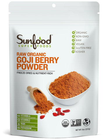 Goji Berries en Polvo 8oz
