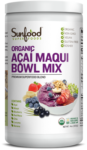 Acaí Maqui Bowl Mix 14oz
