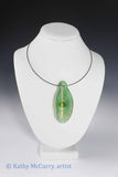 Magic Shell: Green with Green Tiger's Eye