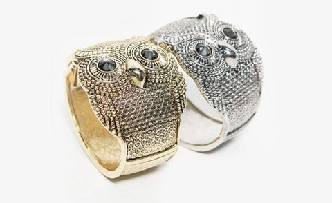 Owl Jewelry Bangle
