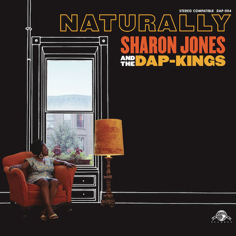 Sharon Jones and the Dap-Kings - Naturally - LP - Daptone Records - DAP-004