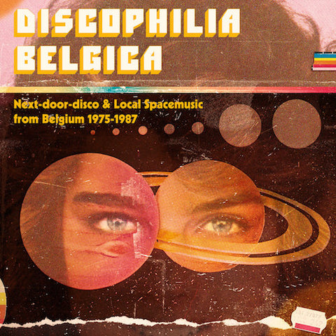 VA - Discophilia Belgica: Next-door-disco & Local Spacemusic from Belgium 1975-1987 (Part 1/2) - 2xLP - Sdban - SDBANLP11