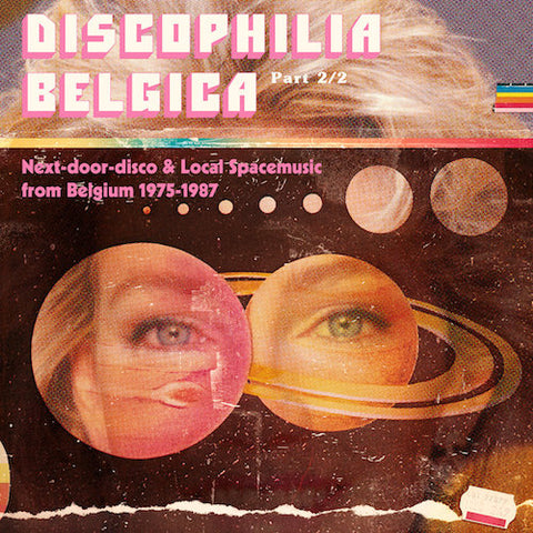 VA - Discophilia Belgica: Next-door-disco & Local Spacemusic from Belgium 1975-1987 (Part 2/2) - 2xLP - Sdban - SDBANLP12