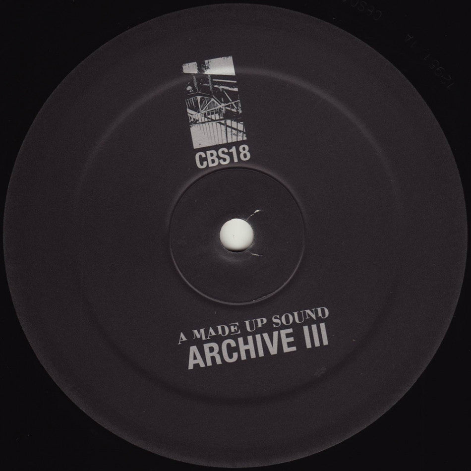 "A Made Up Sound - Archive III - 12"" - Clone - CBS018"