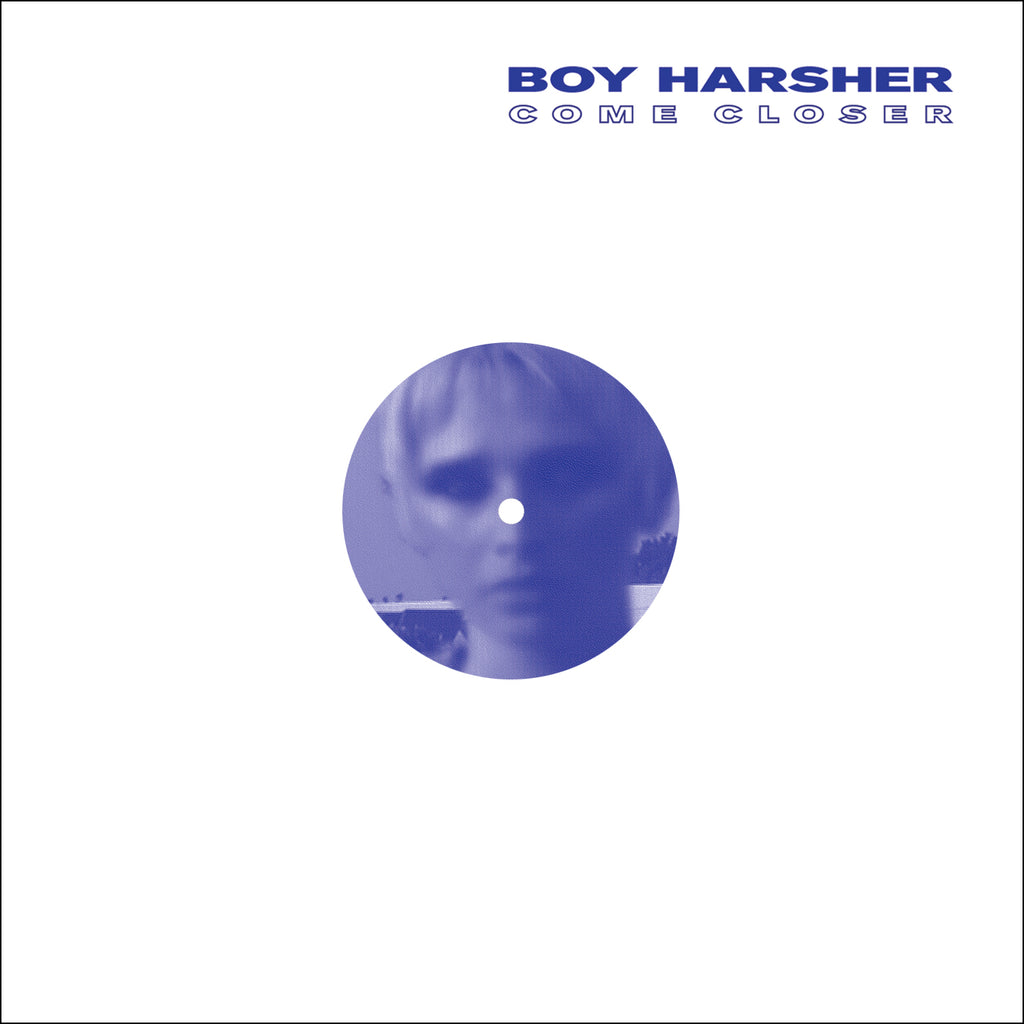 "Boy Harsher - Come Closer - 12"" - Nude Club Records - NUDE008"