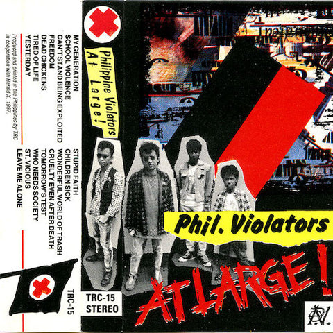 Philippine Violators - At Large! - CS - World Gone Mad - WGM-08