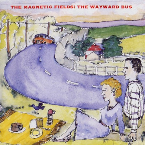 The Magnetic Fields - The Wayward Bus / Distant Plastic Trees - 2LP - Merge Records - MRG075
