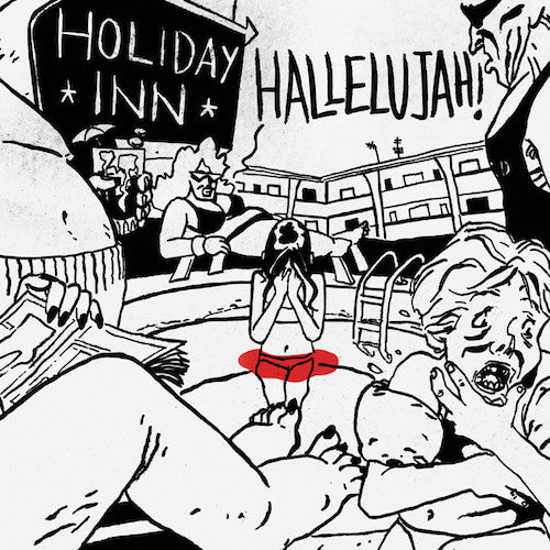 "Hallelujah! / Holiday Inn - Split - 7"" - Maple Death Records - MDR008"