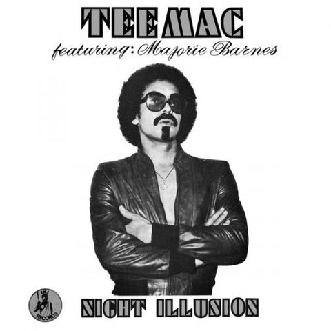 Tee Mac featuring: Majorie Barnes - Night Illusion - LP - Soul Jazz Records - SJRLP346
