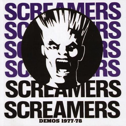 Screamers - Demos 1977-78 - LP - Sob - SOB01