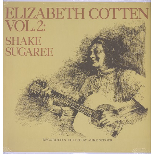 Elizabeth Cotten - Vol. 2: Shake Sugaree - LP - Folkways Records - FTS31003