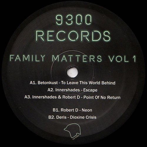 "VA - Family Matters Vol. 1 - 12"" - 9300 Records - AAL008"