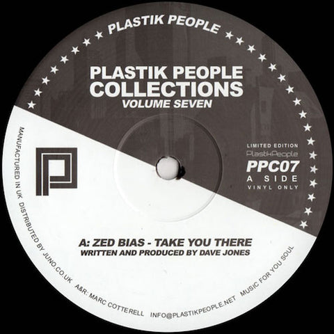 "VA - Plastik People Collections Volume Seven - 12"" - Plastik People Collections - PPC07"