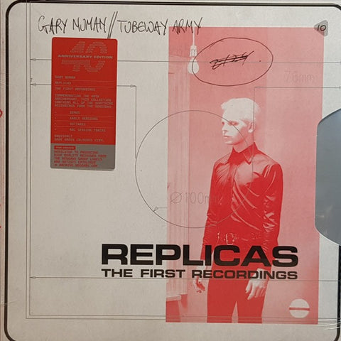Tubeway Army - Replicas (The First Recordings) - 2xLP - Beggars Banquet - BBQ2159LP