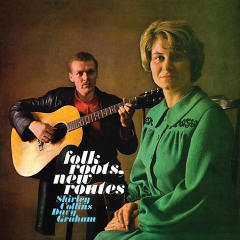 Shirley Collins, Davy Graham - Folk Roots, New Routes - LP - 4 Men With Beards - 4M802