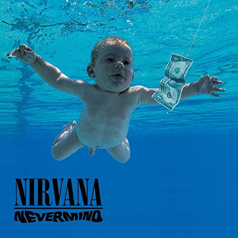Nirvana - Nevermind - LP - David Geffin Company - DGC=24425