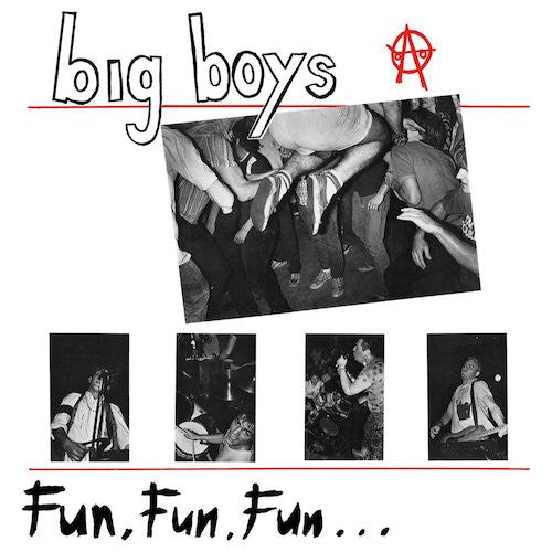"Big Boys - Fun, Fun, Fun... - 12"" - 540 Records - 540-035"