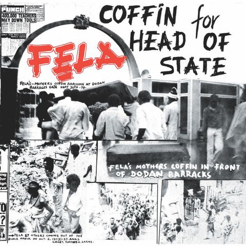 Fela & Africa 70 - Coffin for Head of State - LP - Knitting Factory Records - KFR2036-1