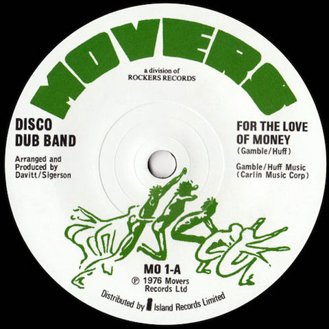 "Disco Dub Band - For the Love of Money - 7"" - Mr Bongo - MRB7133"