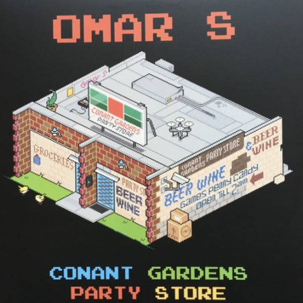 "Omar S - Conant Gardens Party Store EP - 12"" - FXHE Records - AOS(2021)"