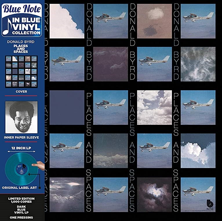 Donald Byrd - Places And Spaces - LP - Blue Note - BN-LA549-G