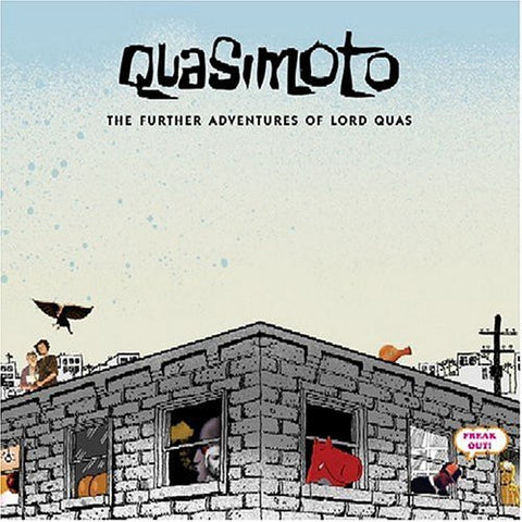 Quasimoto - The Further Adventures of Lord Quas - 2LP - Stones Throw Records - STH2110