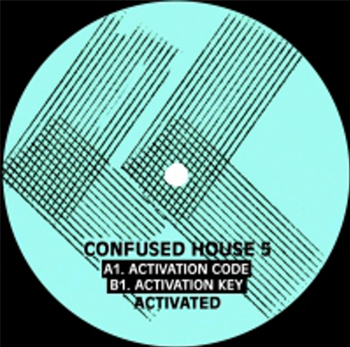 "Activated - Activation Code / Activation Key - 12"" - Confused House - CH005"