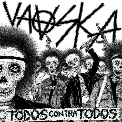 "Vaaska - Todos Contra Todos - 12"" - Beach Impediment Records - BIR-015"