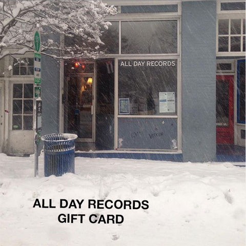 All Day Records Gift Card
